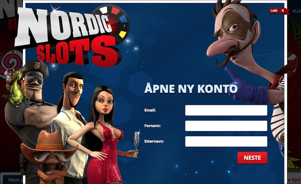 NordicSlots Casino com